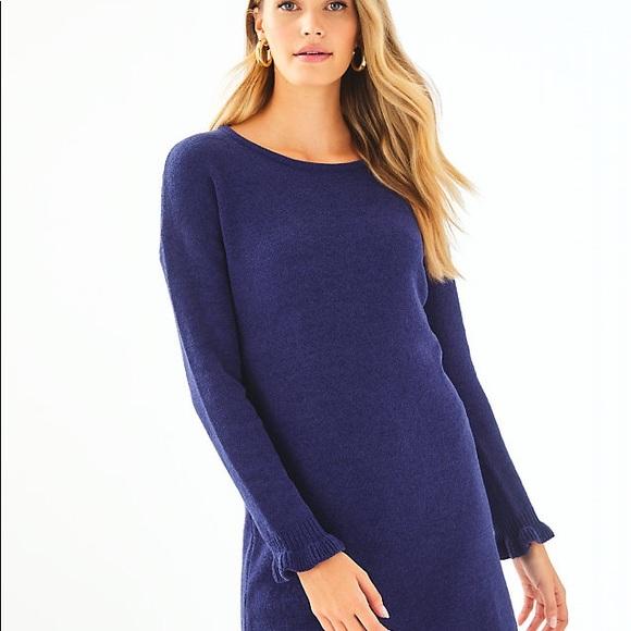 NWT Lilly Pulitzer Galen Sweaterdress XL